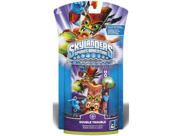 Double Trouble Skylanders Spyro's Adventure Figure
