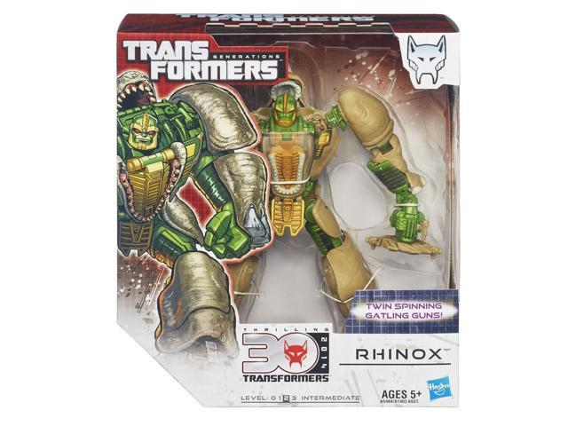 Rhinox Transformers Generations Thrilling 30 Voyager Class Figure