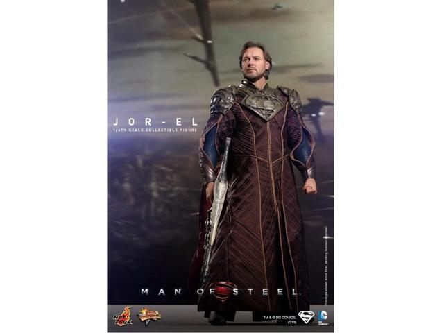 Jor-El Man of Steel Movie Masterpiece Sixth Scale Hot Toys Action Figure
