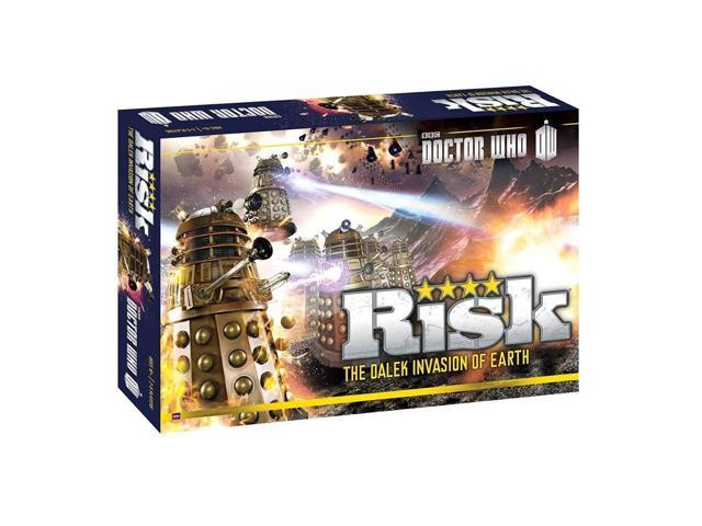 Doctor Who The Dalek Invasion of Earth Risk Board Game