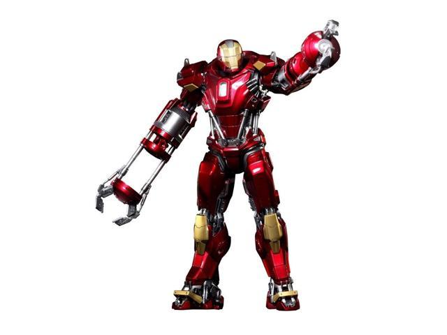 Red Snapper Mark XXXV Iron Man 3 Hot Toys Movie 1/6 Scale Power Pose Figure