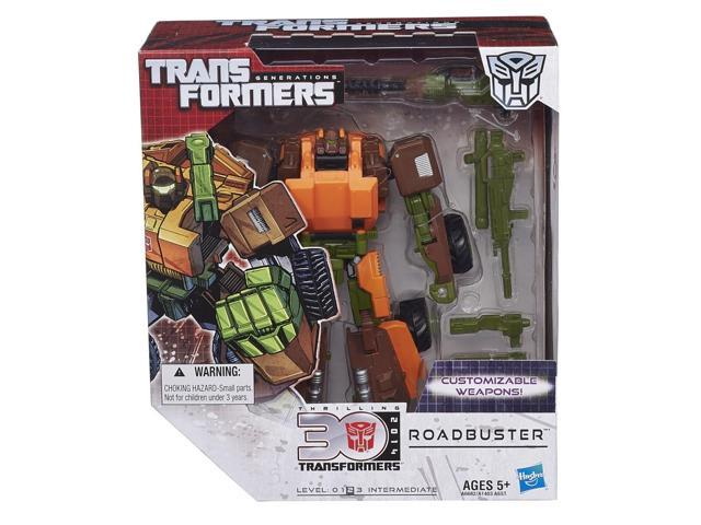 RoadBuster Transformers Generations Thrilling 30 Voyager Class Action Figure