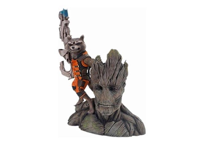 Rocket Raccoon & Groot Guardians of the Galaxy Kotobukiya ArtFX Statue