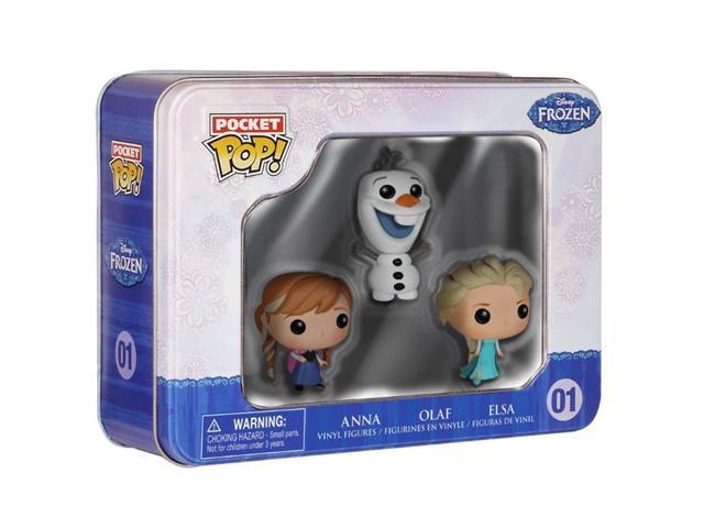 Elsa, Anna and Olaf Disney Frozen Pocket POP Vinyl Figure