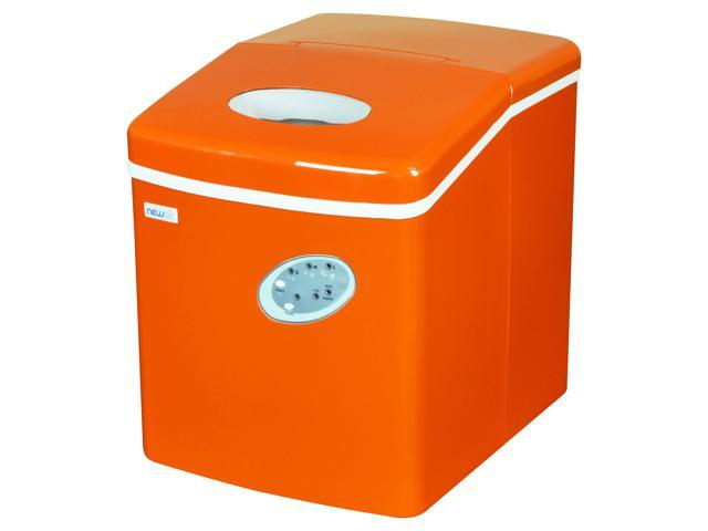 NewAir AI-100VO 28-Pound Portable Ice Maker in Orange