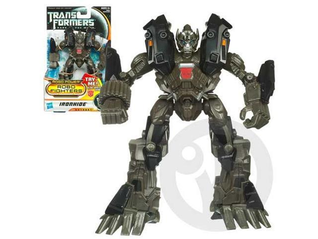 TRANSFORMERS DARK OF THE MOON ROBO POWER ROBO FIGHTERS IRONHIDE