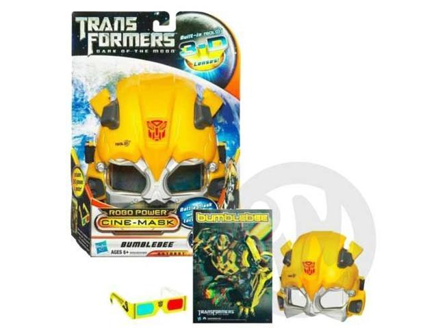 TRANSFORMERS DARK OF THE MOON ROBO POWER  CINE-MASK BUMBLEBEE