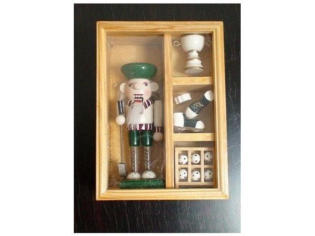 The Nutcracker  Golfer  (with Cup & Shoes)