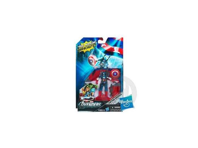 MARVEL THE AVENGERS CAPTAIN AMERICA Aerial Infiltration Mission Figure