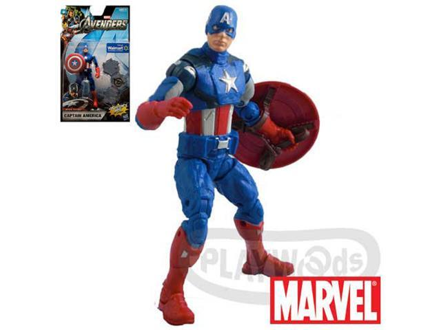 MARVEL THE AVENGERS Movie Series Captain America Figure 6-inch