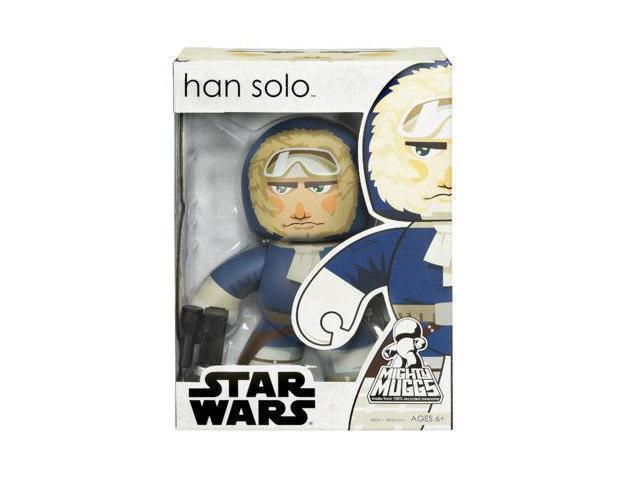 Star Wars Mighty Muggs Han Solo Hoth New in BOX Hasbro