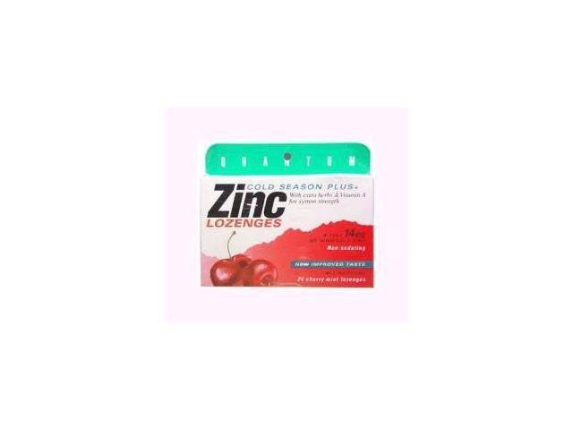 Thera Zinc Lozenges-Cherry - Quantum - 24 - Lozenge