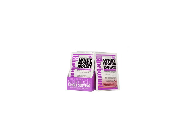 Whey Protein Isolate Strawberry - Bluebonnet - 8 - Packet