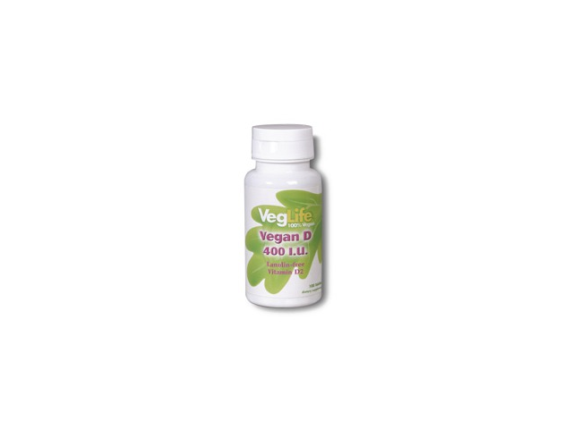 Vegan Vitamin D-400 - VegLife - 100 - Tablet