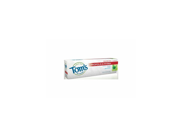 Tom's of Maine Natural Antiplaque Toothpaste 170g/6oz (Spearmint)