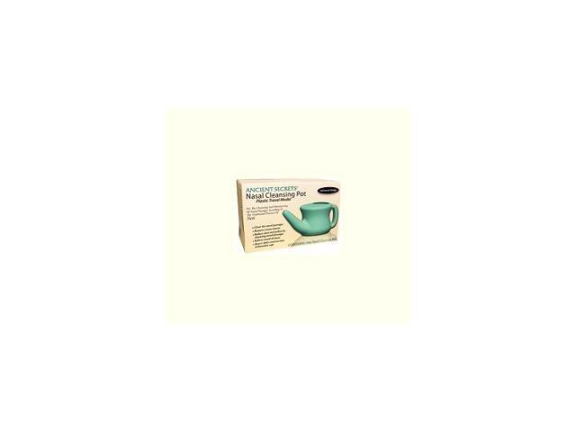 Nasal Cleansing Pot Plastic Travel - Ancient Secrets - 1 - Plastic Pot