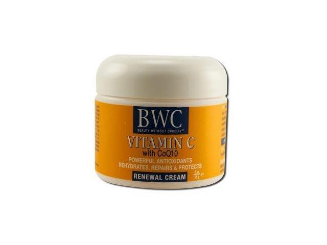 Organic Renewal Cream W/ Vitamin C - Beauty Without Cruelty - 2 oz - Cream