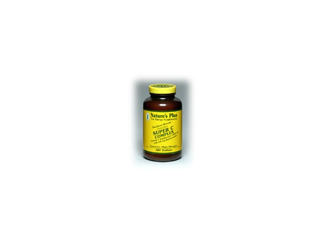 Super C Complex Time Release - Nature's Plus - 180 - Sustained Release Tablet