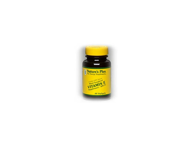 Vitamin E Mixed Tocopherol 400 IU - Nature's Plus - 90 - Softgel