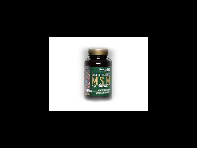 MSM Rx-Wellness - Nature's Plus - 60 - Tablet