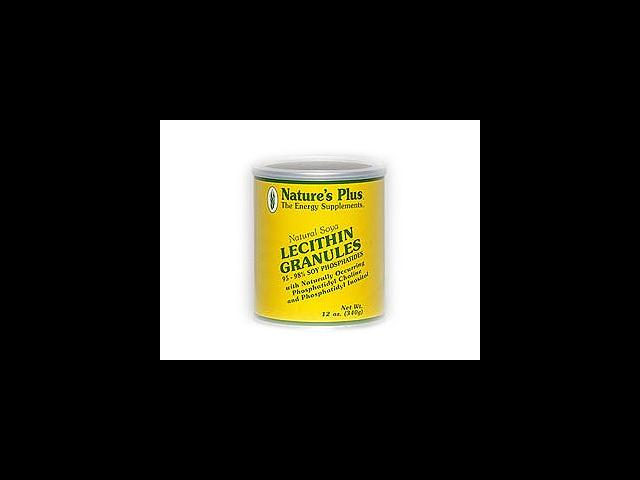 Lecithin Granules - Nature's Plus - 12 oz - Granule