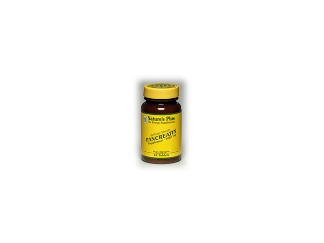 Pancreatin 1000mg - Nature's Plus - 60 - Tablet