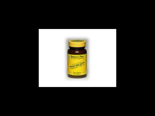 Pancreatin 1000mg - Nature's Plus - 60 - Tablet