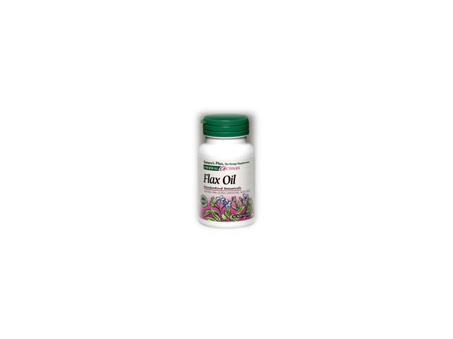 Flax Seed Oil 1300mg - Nature's Plus - 30 - Softgel