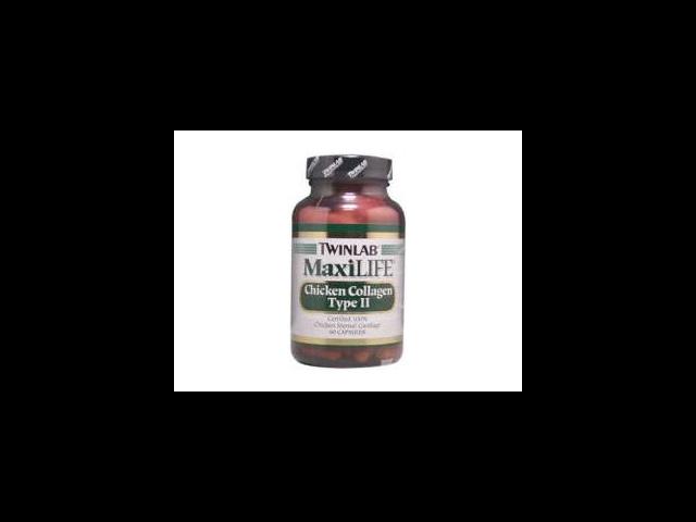 Maxilife Chicken Collagen Type II - Twinlab, Inc - 60 - Capsule