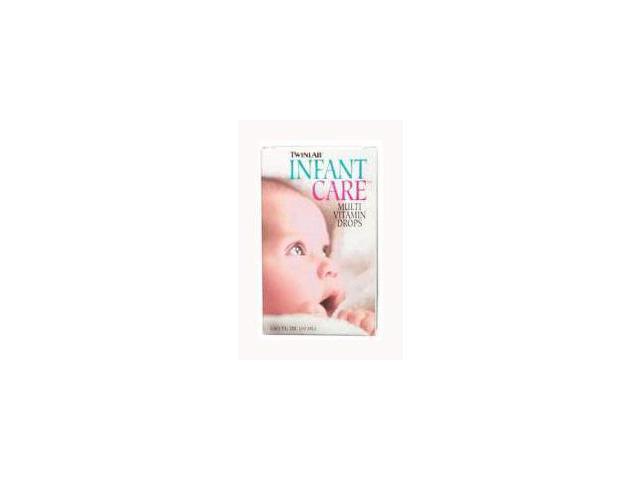 Infant Care Multivitamin Drops w/DHA - Twinlab, Inc - 1.7 oz - Liquid