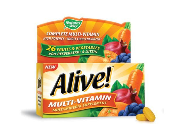 Alive Daily Energy - Nature's Way - 60 - Tablet