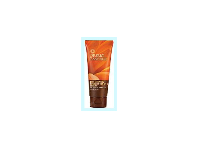Daily Essential Defense Lotion SPF 15 - Desert Essence - 2 oz - Lotion