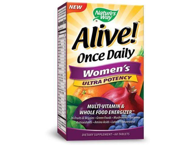 Alive Once Daily Womens Ultra Potency - Nature's Way - 60 - Tablet