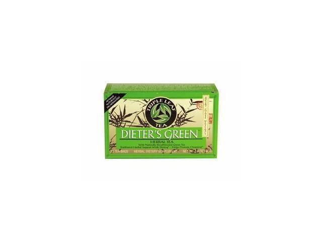 Diet Herbal Tea-Green Dieters Tea - Triple Leaf Tea - 20 - Bag