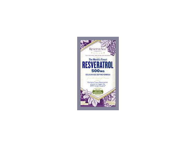 Resveratrol 500mg - Reserveage - 60 - VegCap