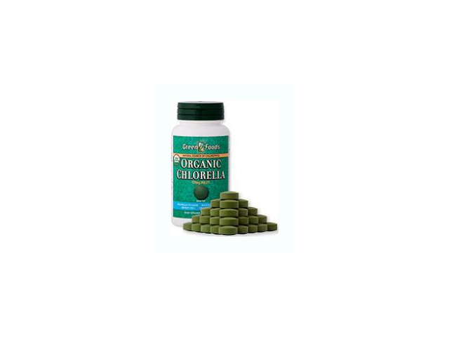 Organic Chlorella 500mg - Green Foods - 120 - Tablet