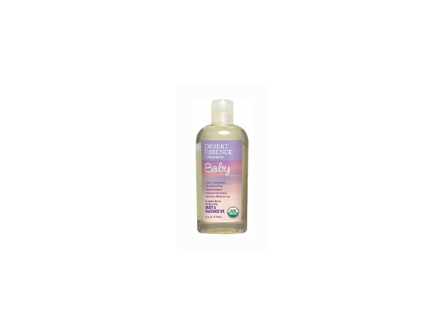 Baby Organics Cuddle Buns Softening Body and Massage Oil - Desert Essence - 4 oz - Oil