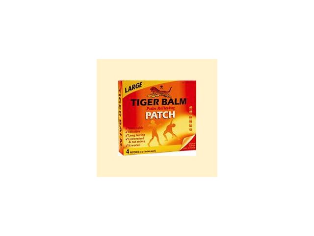 Pain Relieving Patch Large 8x4 - Tiger Balm - 4 - Patch