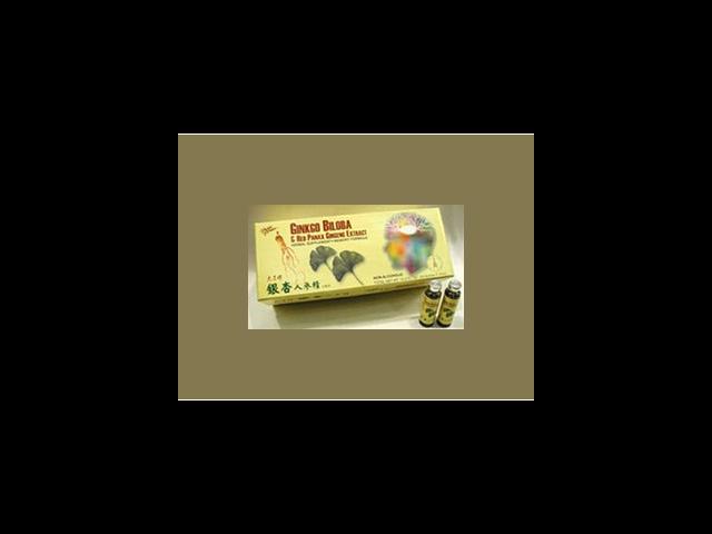 Gingko Biloba & Red Panax Ginseng Extract - Prince Of Peace - 30 - Vial