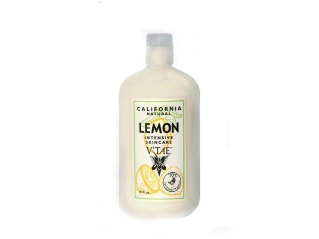 California Natural Lemon Intensive Skincare Lotion - V'TAE Parfum and Body Care - 16 oz - Lotion