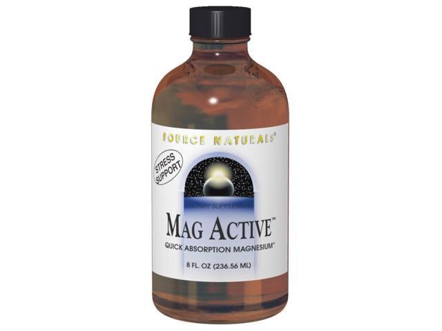 Mag Active - Source Naturals, Inc. - 4 oz - Liquid