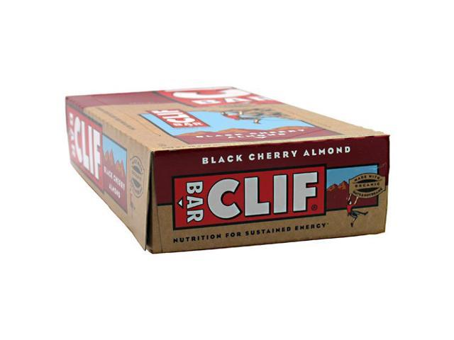 Black Cherry Almond - Box - Clif Bar - 12 - Bar