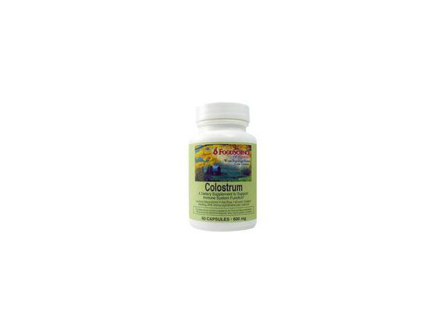 Colostrum - Foodscience Laboratories - 60 - Capsule