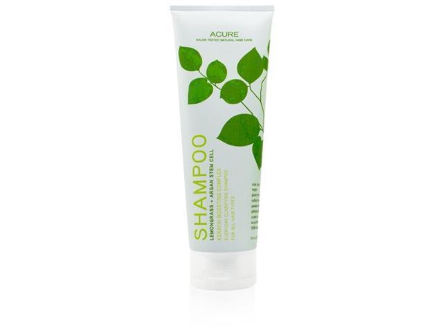 Lemongrass Argan Stem Cell Shampoo Clarifying Keratin Boosting - Acure Organics - 8 oz - Liquid
