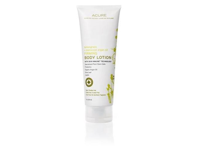 Firming Lemongrass + Argan Oil Lotion - Acure Organics - 8 oz - Lotion