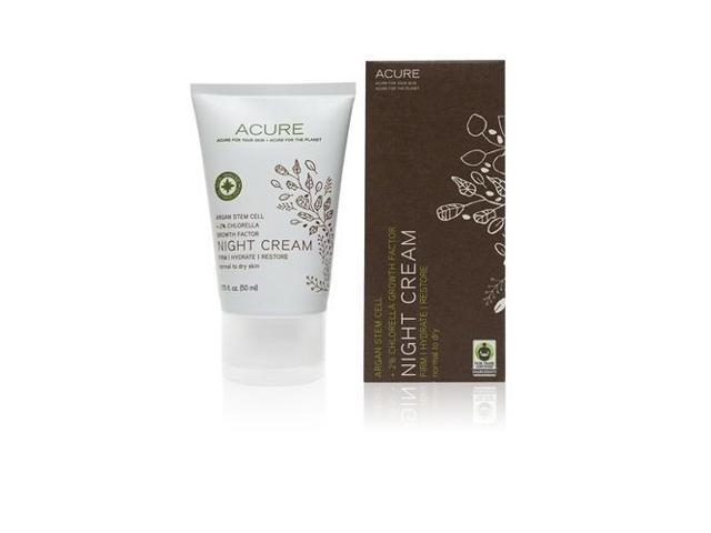 Night Cream - Acure Organics - 1.75 oz - Cream