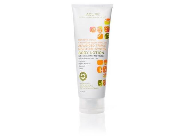 Energizing  Mandarin Orange + Argan Stem Cell Lotion - Acure Organics - 8 oz - Lotion