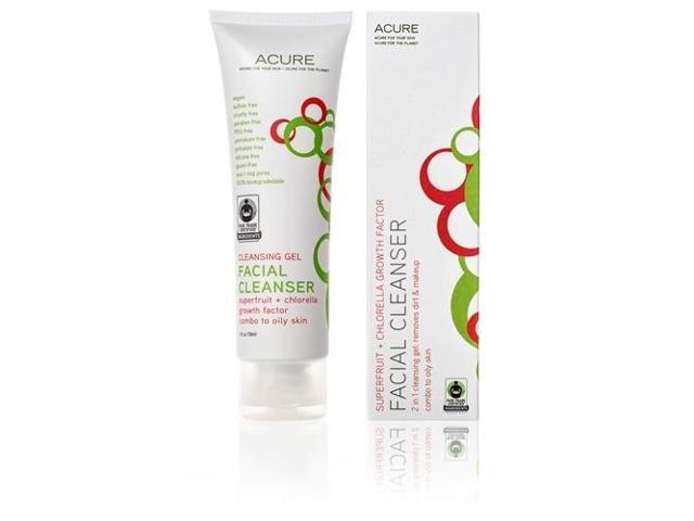 Facial Cleansing Gel - Acure Organics -  - 4 oz