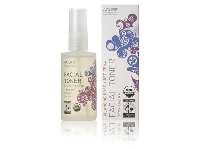 Facial Toner Rose + Red Tea Balancing - Acure Organics - 2 oz - Liquid