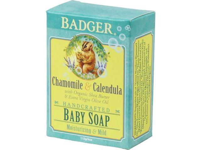 Chamomile & Calendula Baby - Badger - 4 oz - Bar